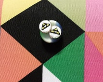 Earrings - Custom Wearable Stitchcraft