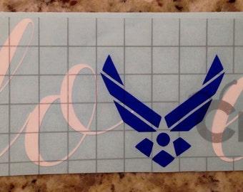 Love Air Force decal