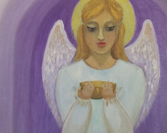 Angel Carrying Hope