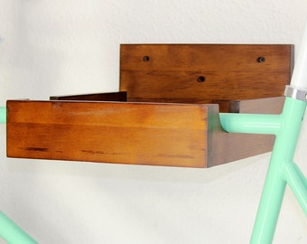 Bike Shelf Indian Rubber - walnut