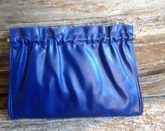 Retro Cabrelli  Royal Blue Convertible Evening Bag/Clutch