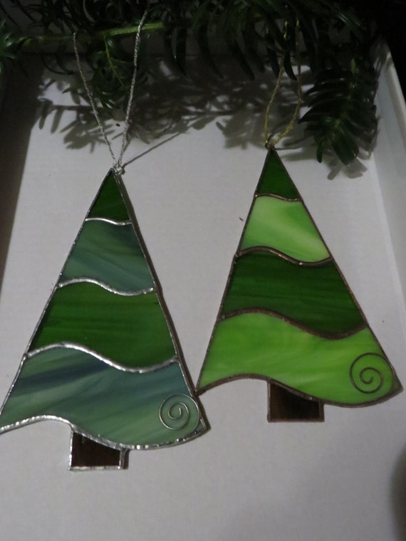 Items similar to stained glass christmas ornament