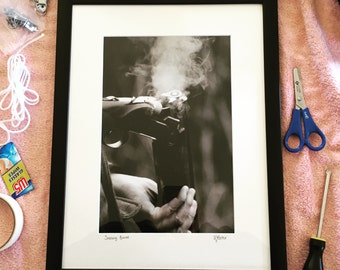 Smoking Barrel - Photographic Print