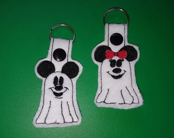 Mouse Ghost Key Fob set