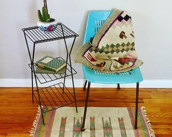 3 Tier Metal Stand, Vintage Plant Stand, Metal End Table,