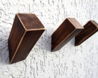 Wall Hook, Wooden Coat Hook, Coat Rack, Modern Wooden Hook, Home Decor