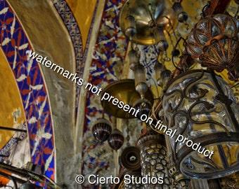 Grand Bazaar Lanterns, Istanbul - digital download
