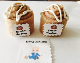 LM 30 Bun In The Oven Baby Shower Favor Game