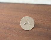 simple earrings - simple minimalist studs - everyday earrings - tiny earrings - tiny studs - sterling silver - nickel free tiny silver studs