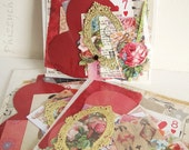 Victorian Romance - Paper Ephemera Kit