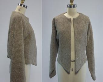 1980s Vintage Asymmetrical Crop Jacket Size Medium by PGE