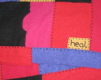 embroidery for blanket . embroidered details . additional embroidery