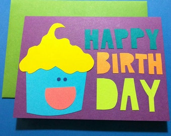 Happy Birthday Cupcake // Cards For Celebration