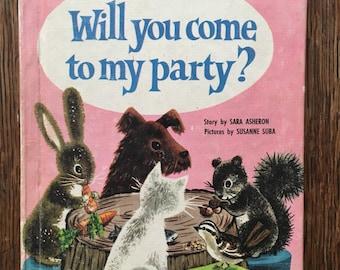 1961 Will you come to my party? Sara Asheron Susanne Suba Easy Reader