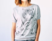 SALE Tiger T-Shirt, Grey