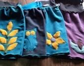 Hemp Fleece Mini Skirt Hipwarmer