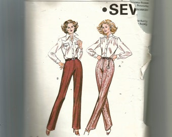 Kwik Sew Misses' Pants Pattern 1011