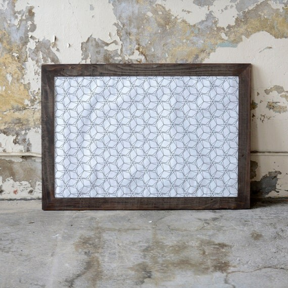24x36 Picture Frame Reclaimed Wood Frame Custom Wooden