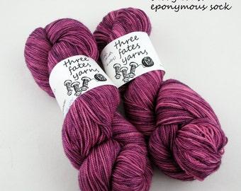 berry crush - eponymous, fingering weight yarn