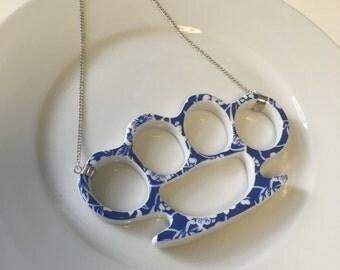 RESERVED China Knuckles Necklace