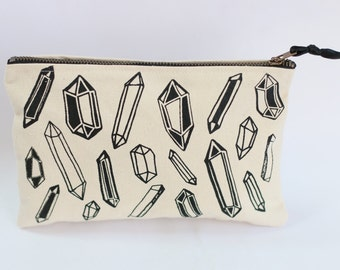 Crystal Zipper Pouch
