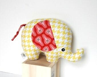 Elephant Softie, Unique Baby Gift, Stuffed Elephant, Plush Elephant, Baby Toy, Stuffed Animal