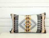 Rancho Arroyo Wool Lumbar Pillow