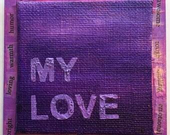 My Love - Inspire Art