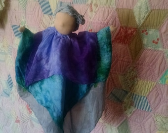 Waldorf Silk Puppet Marionette, You Choose Custom Colors