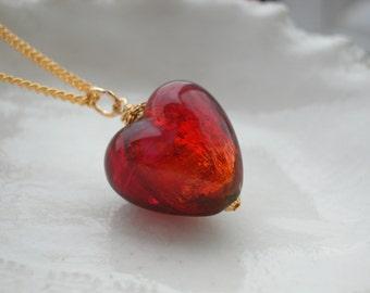 Exclusive Venetian Murano Glass Necklace