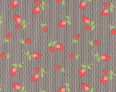Sundrops - Rosebuds in Dark Taupe: sku 29012-25 cotton quilting fabric by Corey Yoder for Moda Fabrics - 1 yard