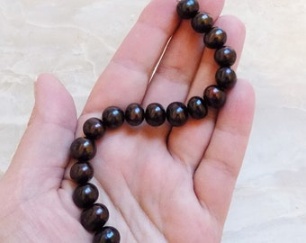 Chocolate Brown Freshwater Pearls
