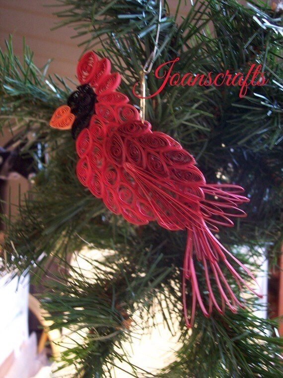 Cardinal, Chickadee Ornaments-Two of the most popular