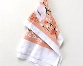 Poppy Kitchen Towel - Coral