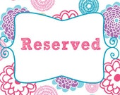 RESERVED for Robin - 50 Blank Carnival Tickets - Vanilla, Pink, Orange, Green Hot Pink