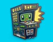 Arcade Buddy Retro Gaming Soft Enamel Lapel Pin