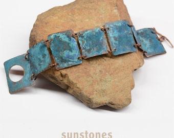 Rustic Link Cuff Bracelet B1831