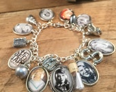 Sylvia Plath Charm Bracelet - the Simplicity of Sylvia