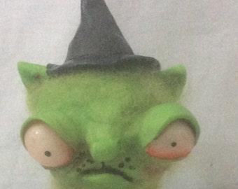 Kitty Witch Ooak  art doll