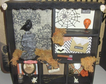 TriCk or TrEaT ShAdoWbOx HaLLowEEn aLtErEd ArT RaVeN PumpKiN AxE kNiFe SpiDeR