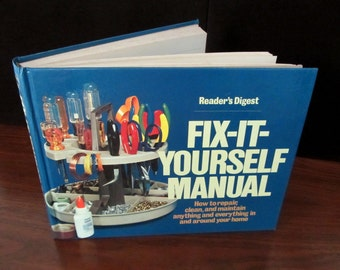 1977 Hard Cover Fix-it Yourself Manual By Reader's Digest