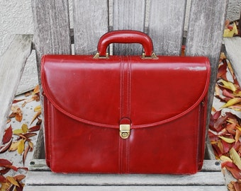Vintage Wilsons Leather Briefcase Satchel