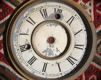 Antique Clock Face. Clock Parts. Supplies. Clock Numbers. Steampunk. Art Supplies