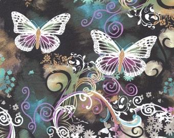 Michael Miller Filigree Flutter Fabric by the yard  CX3406-MULT-D
