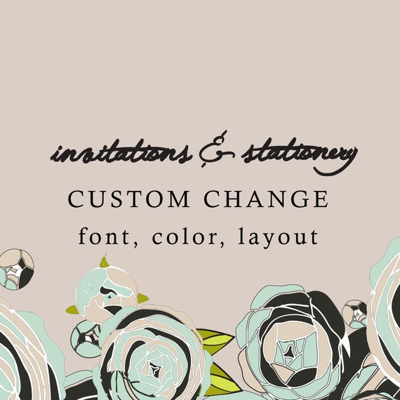Cheap Design Changes That Have: Custom Change