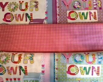 Homegrown - For Blend - Fat Quarter Set - 3 Prints - 7.49 Dollars
