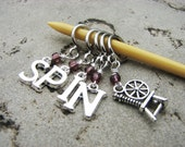 SPIN Non-Snag Stitch Markers