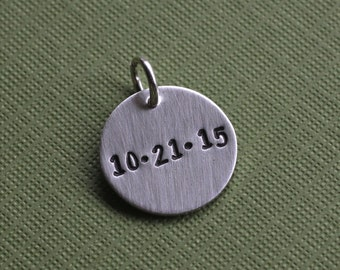 Personalized Date Charm