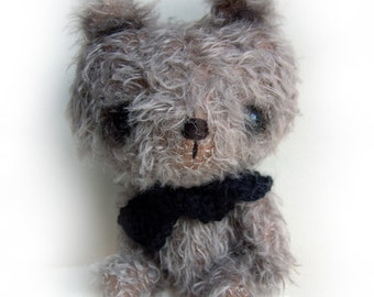 CTB is Chocolate Teddy Bear - OOAK anime bear epattern by Jenny Lee of jennylovesbenny bears PDF