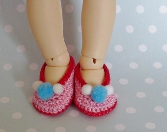 Littlefee, YOSD Shoes Funny Pink